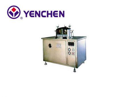 آلة غسل الزجاجات الدوارة شبه الأوتوماتيكية
