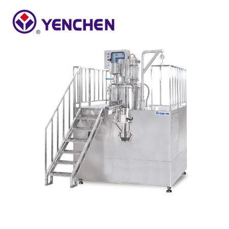 クイックミキシング造粒乾燥機(真空乾燥システム付き)
