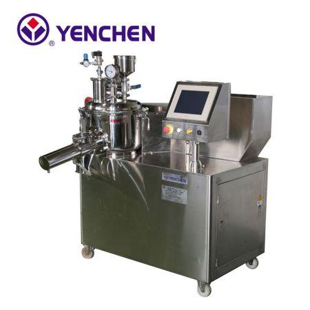 單一鍋造粒微波乾燥機 - 單一鍋造粒微波乾燥機 Super Mixer / Granulator / Microwave Dryer