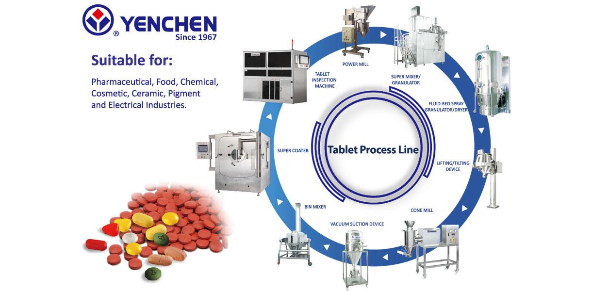 Tablet Process Line