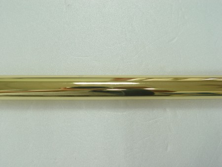 Bright Brass Metal Curtain Rod - bright_brass_curtain_rod_made_of_iron