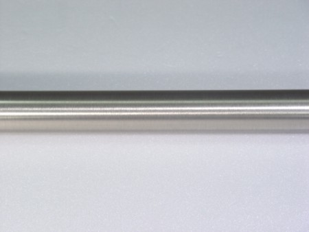 Metal Curtain Rod Brushed Nickel Finish - iron_curtain_pole_in_brushed_nickel_finish