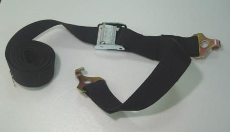 Cam Buckle Ikat dengan Flat J-Hook - kencangkan_tie_down_strap