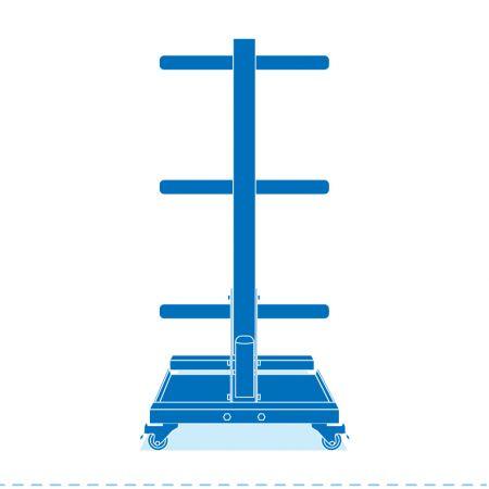 Olympic Plate Rack - Plate Rack