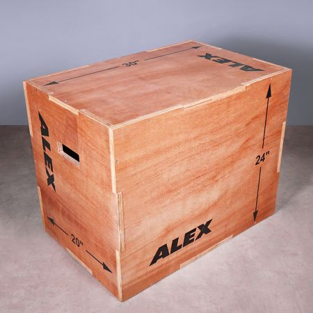 3-in-1 Filp Plyo-box - 3-in-1 Filp Plyo-box