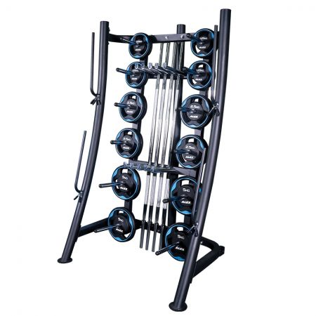 Studio Barbell Set Rack - pump set rack