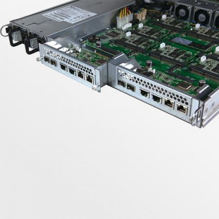 Ceph Storage Appliance Mars 400 Rückseite
