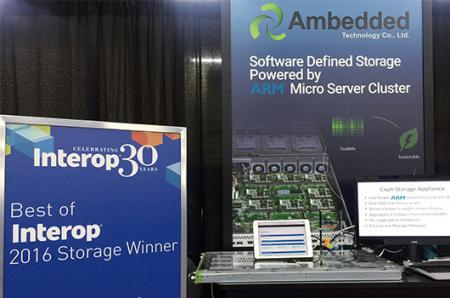 Mars 200 Ceph El dispositivo ganó el premio Best of Interop Storage 2016_photo 2