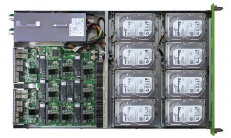 Mars 400 arm servidores con 8 microservidores en su interior