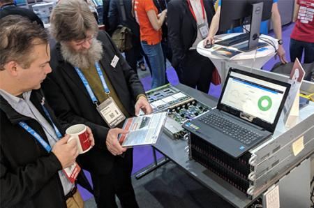 Ambedded at CloudFest, Data and Cloud EXPO and SIS Solution showcase day in 2018.
