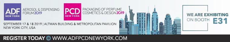 Perfume Cosmetics and Design New York 2019のパッケージング