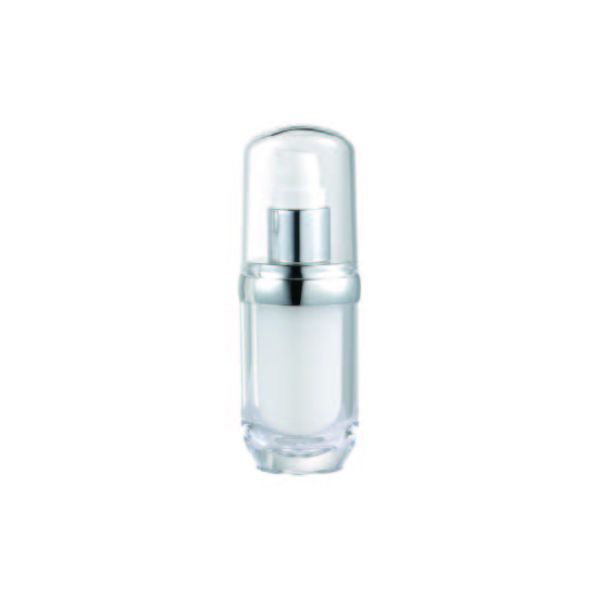 Acrylic Oval Lotion Bottle, 15ml - VB2-15 Lily Melody packaging