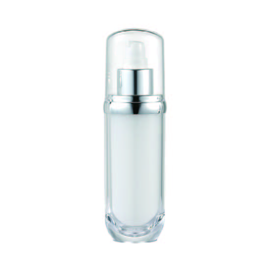Acrylic Oval Lotion Bottle, 60ml - VB2-60 Lily Melody packaging