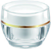Acrylic Oval Cream Jar, 30ml - VDA-30 Flying Symphony packaging