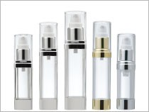 Airless Cosmetic Packaging All Capacities