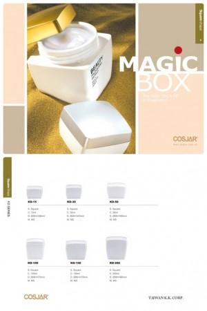 Serie de cajas línea