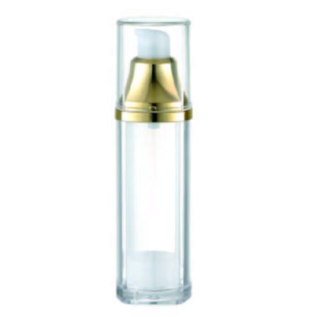 Acrylic square Airless Bottle, 30ml - KBA-30 Violet Blossom packaging