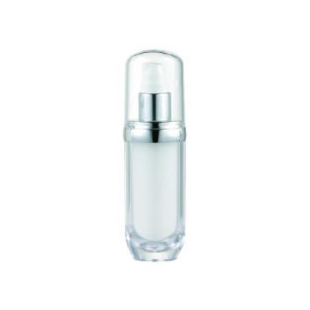 Acrylic Oval Lotion Bottle, 30ml - VB2-30 Lily Melody packaging