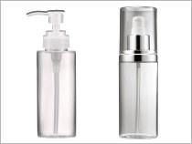 Botella cosmética PETG      Envase