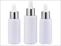 Dropper Cosmetic Packaging PET Material