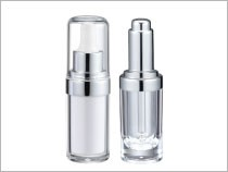 Dropper Cosmetic Packaging Round Shape