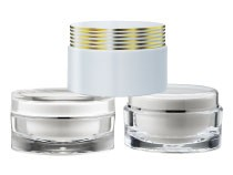 Cosmetic Jar Packaging Round Shape