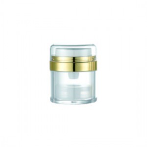 Vaso airless rotondo acrilico, 30 ml