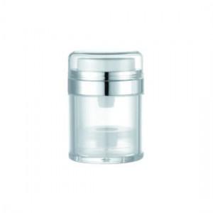 Vaso airless rotondo acrilico, 50 ml