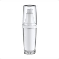 Acrylic Round Lotion Bottle, 30ml - HB-30 A Metal Planet