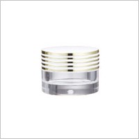 Acrylic Round Cream Jar, 5ml
