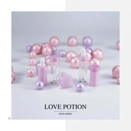 Small Capacity Acrylic Cosmetic & Skincare Packaging - Love Potion serie
