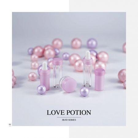 Cosméticos y cuidado de la piel acrílicos de pequeña capacidad      Envase - Serie Love Potion
