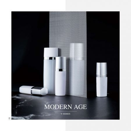 Square ECO PET Cosmetic & Skincare packaging - Modern Age serie