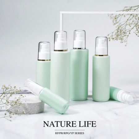 Round Shape PET & PETG ECO  Cosmetic & Skincare packaging - Nature Life serie