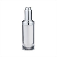 Acrylic Round Dropper , 15ml