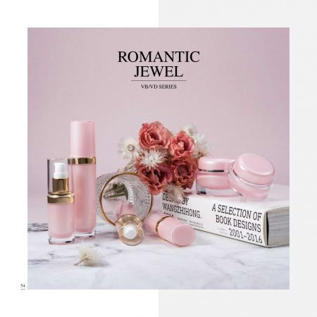 浪漫系列 - Cosmetic Packaging Collection - Romantic Jewel