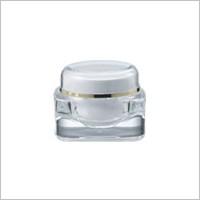 Acrylic Square Cream Jar 50ml