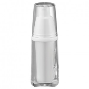 Acrylic Square Lotion Bottle, 15ml