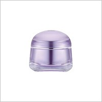Acrylic Square Cream Jar, 50ml