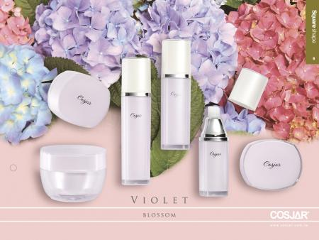 紫羅蘭系列 - Cosmetic Packaging Collection - violet blossom