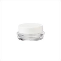 Acrylic Round Cream Jar, 5ml - ED-5 Collection Treasure