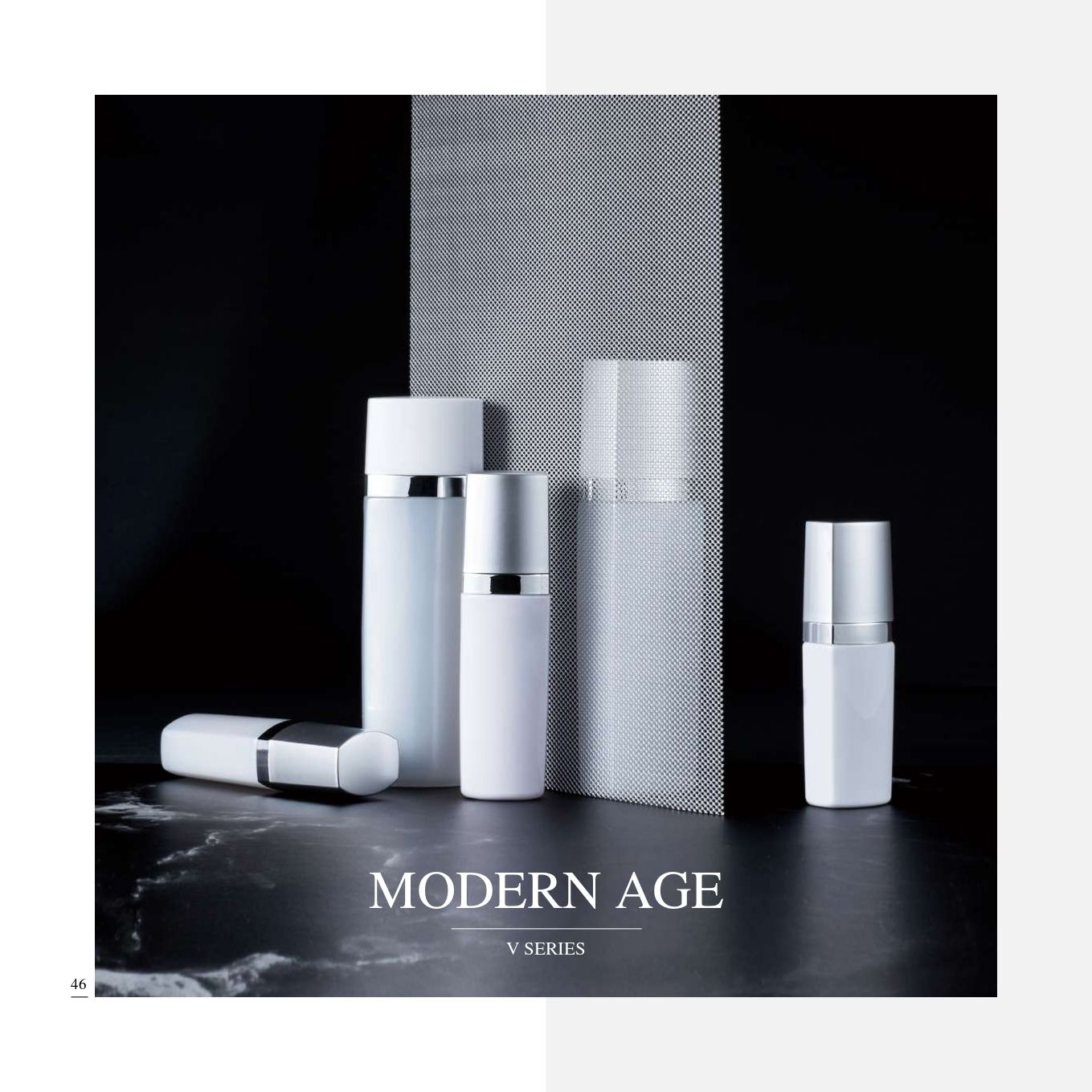 Modern Age (Sleek and Trendy PET Cosmetic Packaging Series) - Cosmetic Packaging Collection - Modern Age