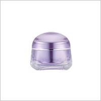 Acrylic Square Cream Jar, 30ml - TD-30 Jellyfish