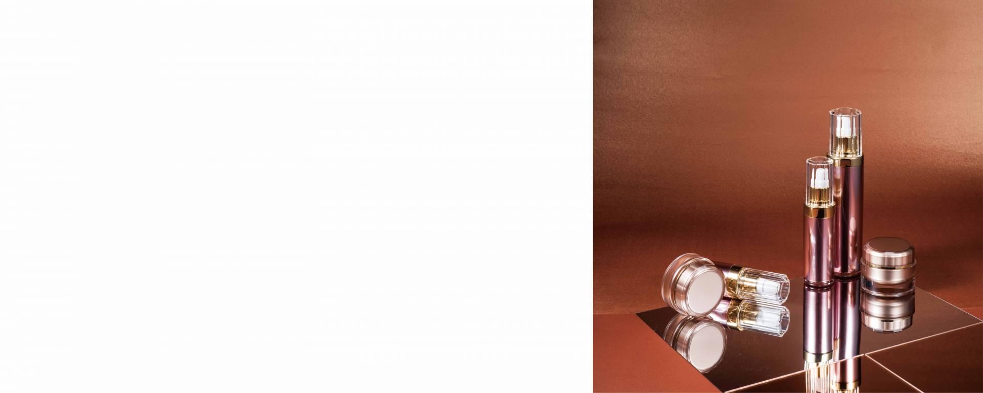 COSJARビューティーパッケージ 豪華でエレガントなハイエンドのクリスタルクリアアクリル スキンケア化粧品の美容パッケージ