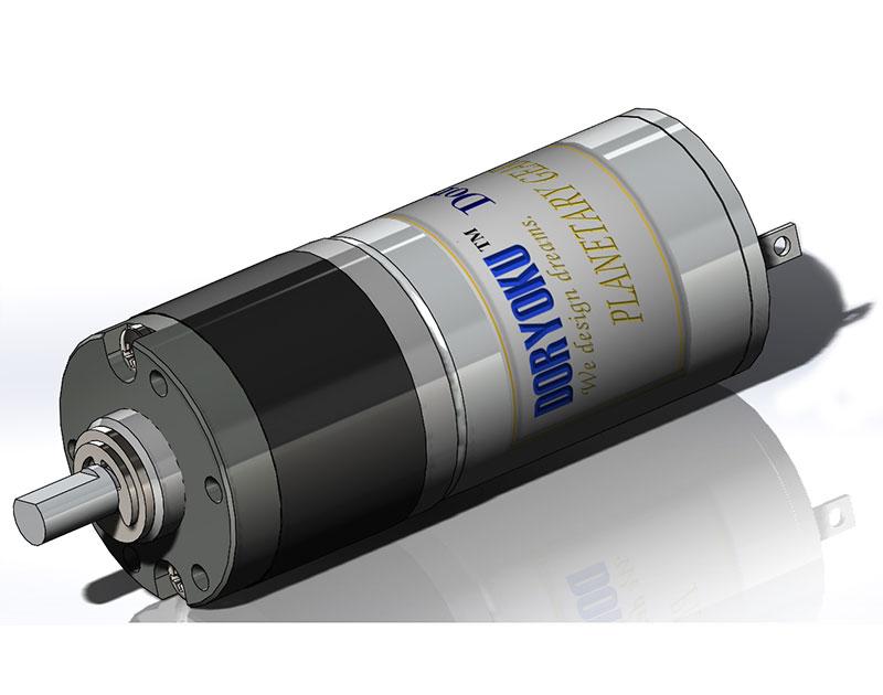 Silnik DIA22 Mini Tube - Silnik szczotkowy DC z redukcjami planetarnymi, ciągły stabilny moment obrotowy.