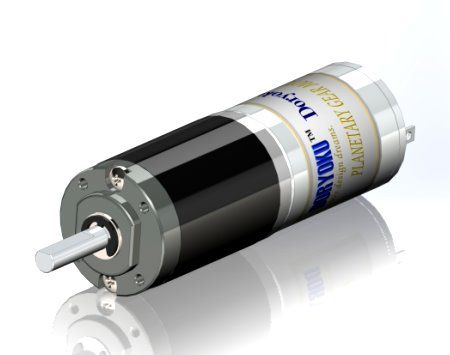 DIA22 Mini tube Motor - DC Brushed Motor With Planetary reductions, Continuous torque stable.