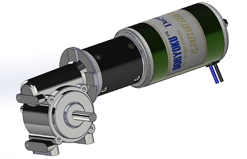 Complicated Gear Motor for Special Design