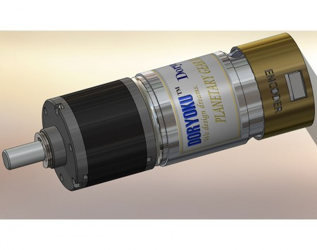 DC Strong Brushed Motor With Planetary Gear Reducer and encoder EP35
