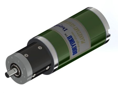 DIA54 Quiet Planet Gear Motor - DC Brushed Motor with Planetary Reduction Gear Box