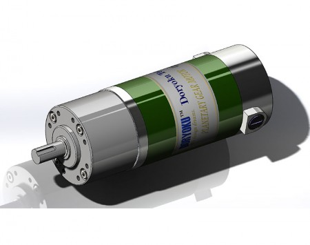 DIA80 TURBO DC Planetary Motor - DC Brushed Motor with Planetary Reduction Gear Box
